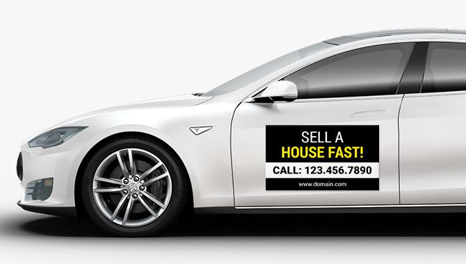 car magnet image